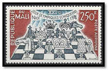 niger 1974 timbre