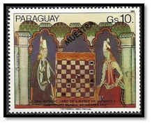 paraguay 1982 10 G muestra