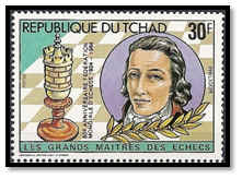 tchad 1983 30 F surcharge rouge