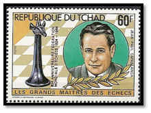 tchad 1983 60 F surcharge rouge