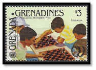 grenadines 1985 timbre