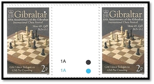 gibraltar 2012 paire 2 p