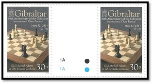 gibraltar 2012 paire 30 p