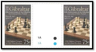 gibraltar 2012 paire 75 p